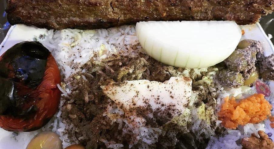 کباب گوسفندی را در رستوران خزر ماسال میل کنید + تصاویر