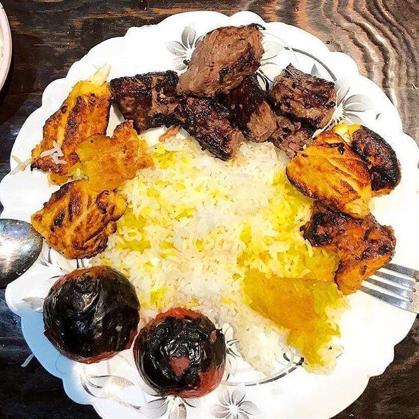 خوشمزه ترین کباب رشت در رستوران حاج حسین + تصاویر