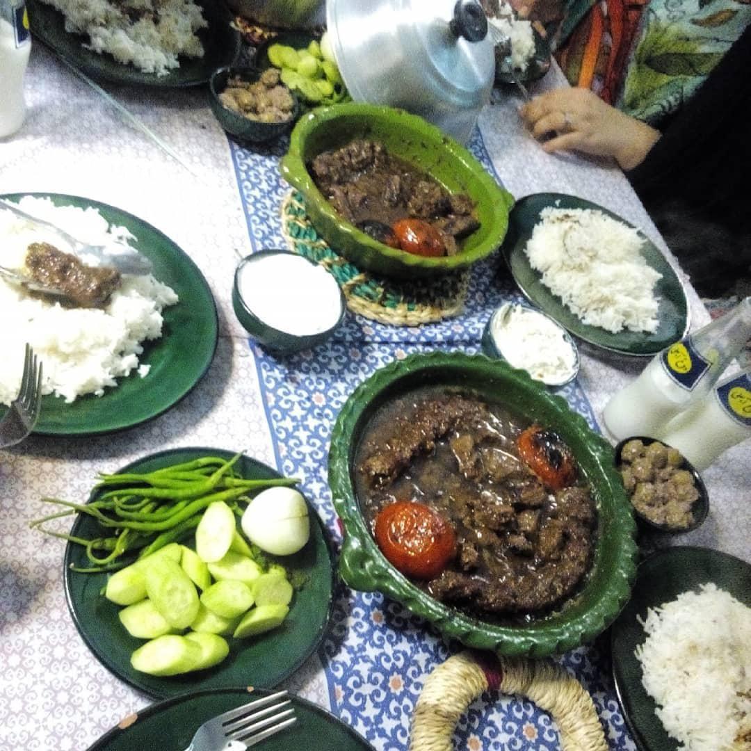 بهترین رستوران برای کباب گمجی گیلان + تصاویر