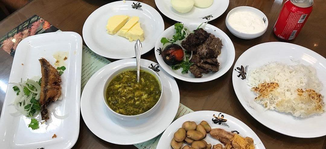 نگاهی به غذاهای رستوران محمود رشت