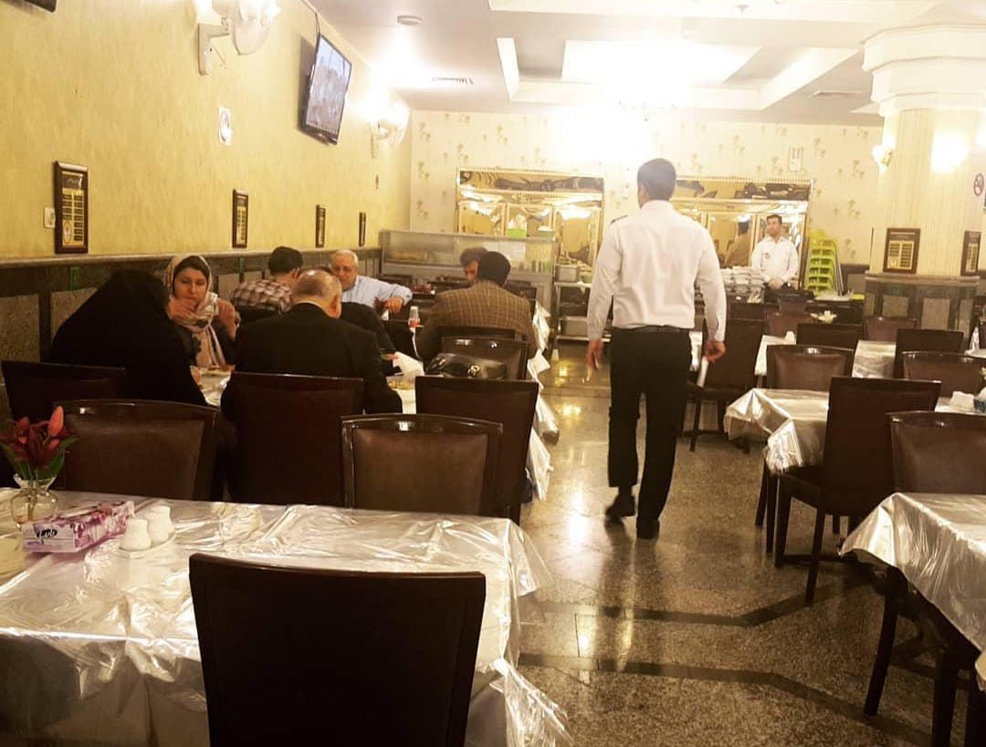 رستوران پسران کریم مشهد که میگفتند ، همین بود؟!