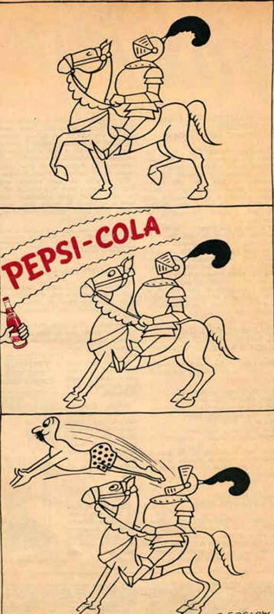 تبلیغ اختصاصی شرکت پپسی برای گیلانی ها