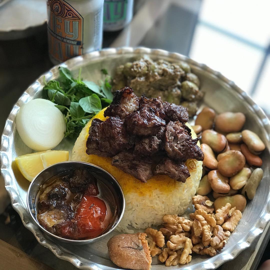 پلوکباب اصل گیلان رو در کته کباب یاسر بخورید! + تصاویر خوشمزه