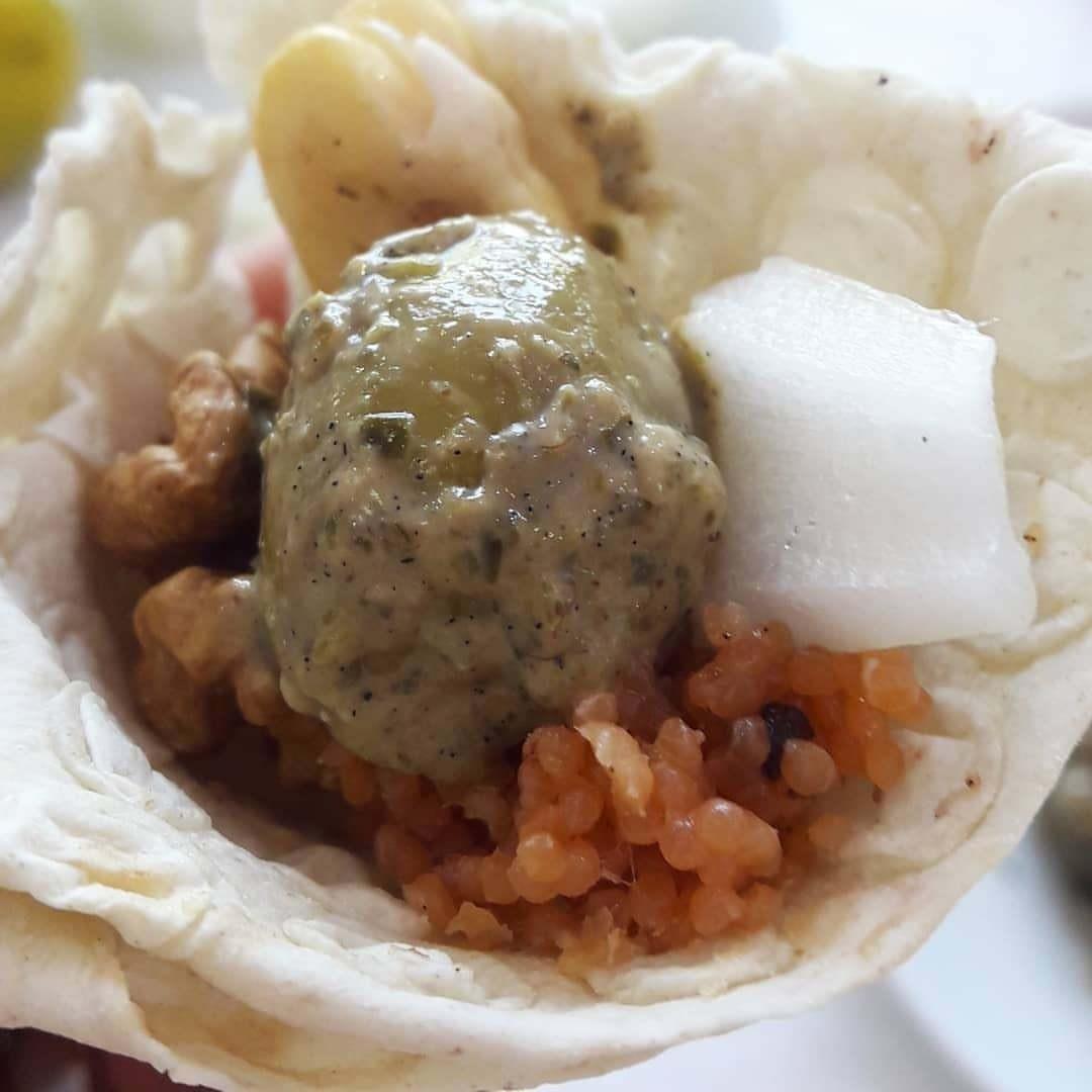 اشپل گردو باقالی ، صبحانه باحال و بدون پخت و پز گیلانی ها
