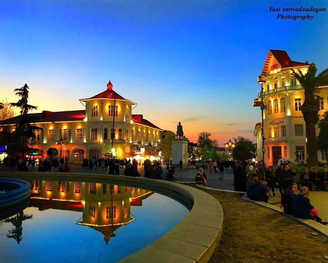 میدان شهرداری رشت در شب چه غذاهایی برای خوردن دارد؟ + فیلم