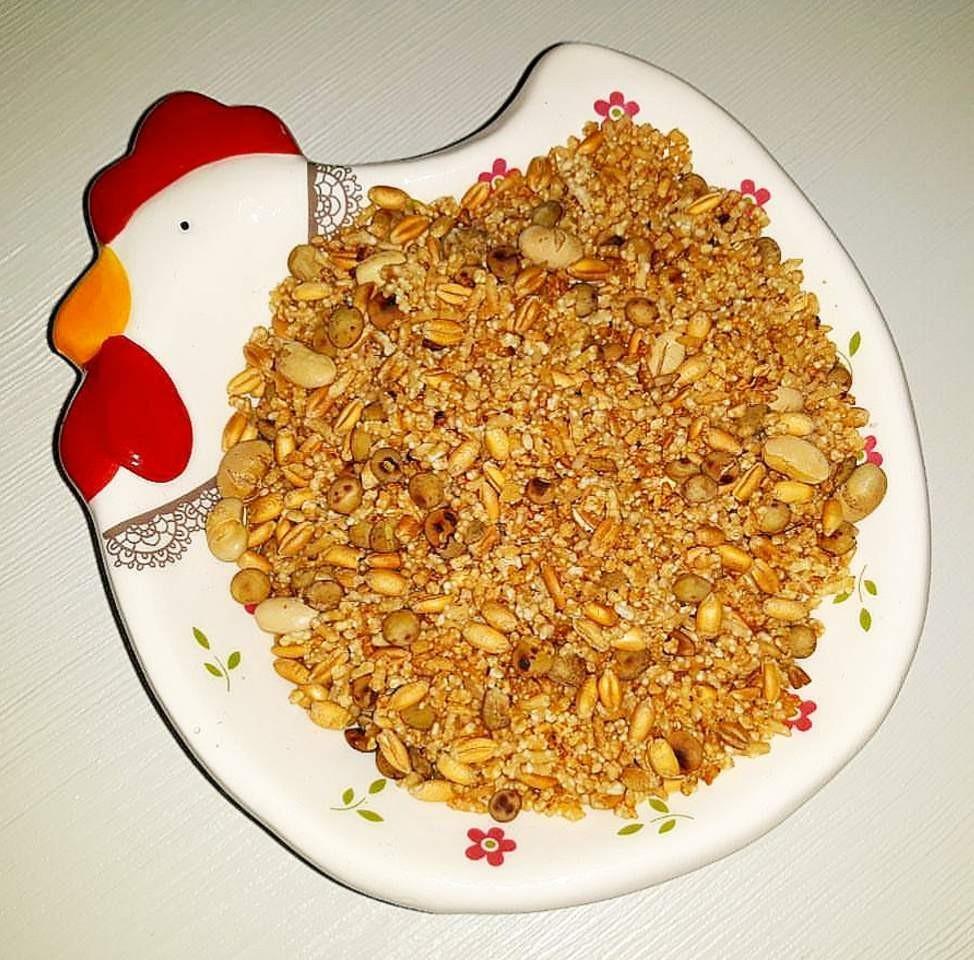 طرز تهیه برنج سرخ شده گیلان یا برنجک