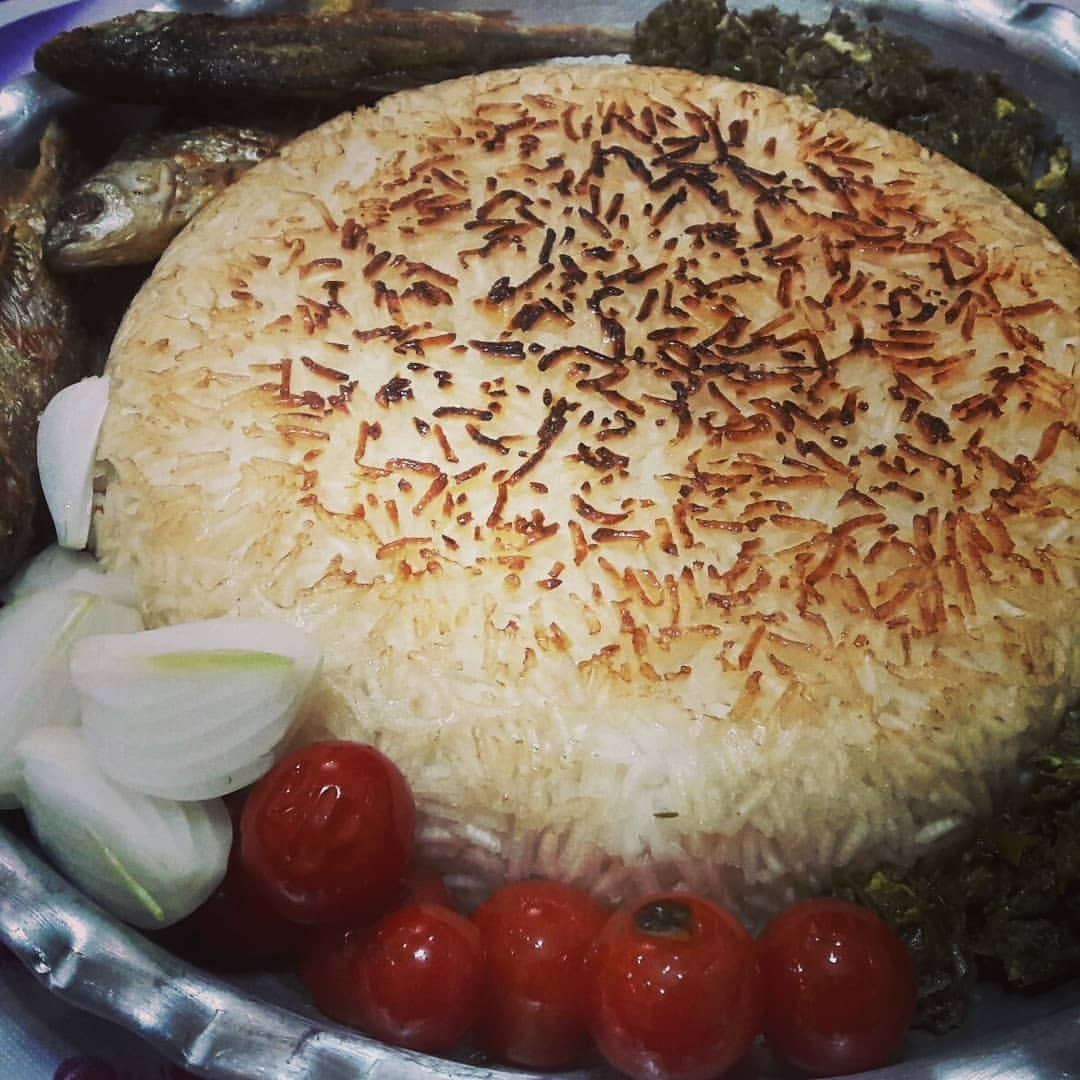 اموزش پخت سریع برنج کته [ فوت و فن پلو گوجه گیلانی ]