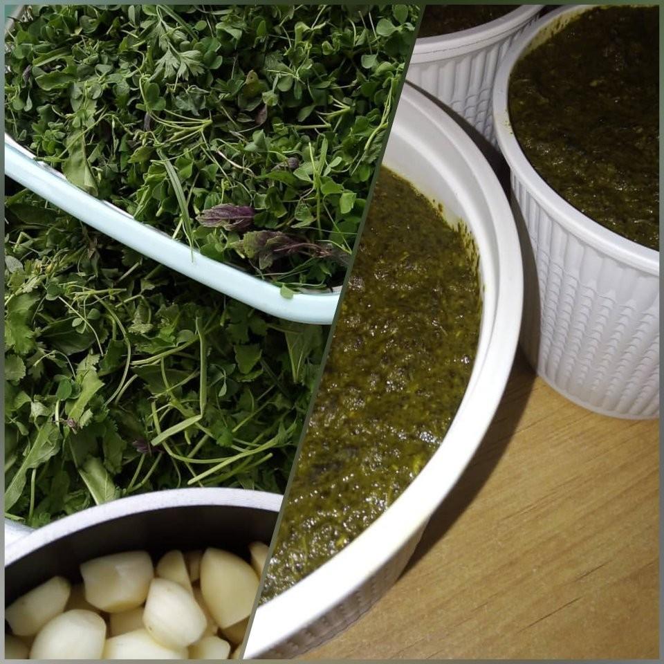 آموزش درست کردن خورش ترش واش با سبزی های گیلانی