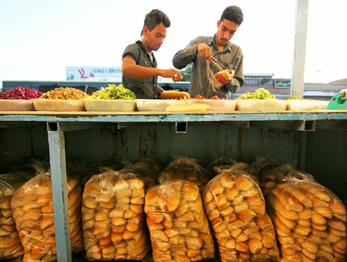 طرز تهیه فلافل مغازه + رازهای ساندویچی لشکرآباد اهواز