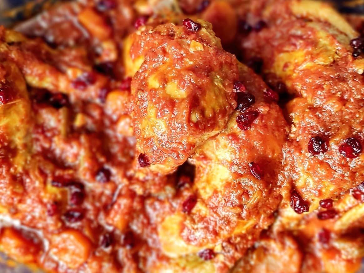 طرز تهیه زرشک پلو با مرغ برای 4 نفر